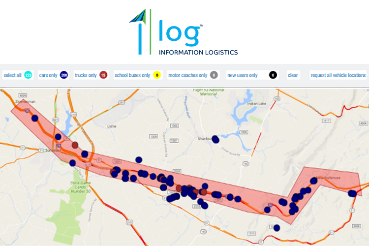 Stranded Motorists Aided by LocationSmart Technology with Information Logistics